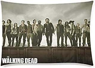 Kate Custom The walking dead Zippered Pillow Case Personalized Pillowcases 20x30 (Two sides)