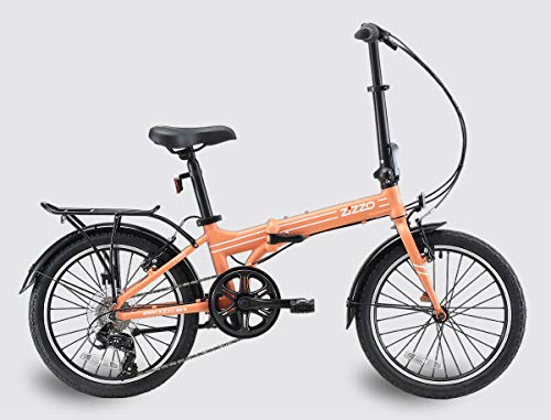 Best Price! EuroMini ZiZZO Heavy Duty Forte 28lb Folding Bike-Lightweight Aluminum Frame Genuine Shi...