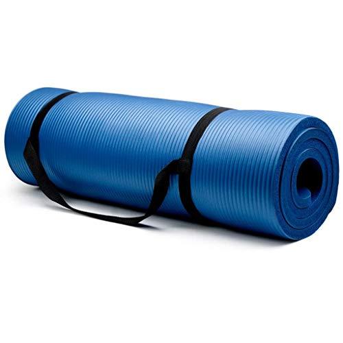 Esterilla de yoga, pilates, entrenamiento, al aire libre, gimnasio y hogar (B)
