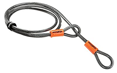 Kryptonite KryptoFlex Looped Bike Security Cable, 4' (10mm)
