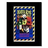 BEASTIE BOYS - Irvine Meadows Amphitheater 1992 Matted Mini