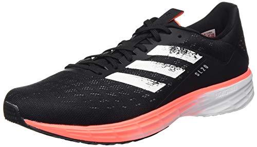 adidas SL20, Zapatillas de Running para Hombre, Core Black/FTWR White/Signal Coral 43 1/3 EU