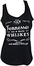 Jack Daniel's Tennessee Whiskey Women's Tank Top (X-Large) Black