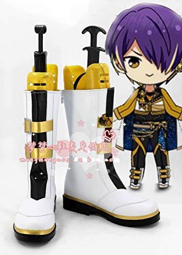 Anime Ensemble Stars Zapatos Morisawa Chiaki Cosplay Boots Halloween Carnival Shoes 41