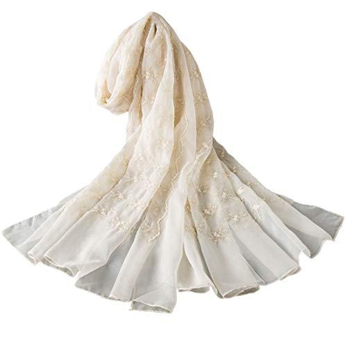YONKINY Pañuelos Seda Grandes Mujer Elegante Mantón
