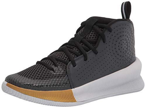Under Armour Women's 2019 Basketball Shoe, Jet Gray (100)/Halo Gray, 8.5