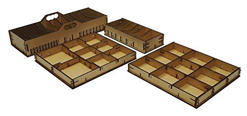 docsmagic.de Organizer Insert for Arkham Horror 3rd Edition Box - Encarte