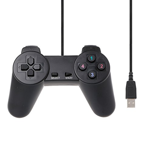 zijianZZJ Best Game Series, 2019 New USB 2.0 Gamepad Gaming Joystick Wired Game Controller for Laptop Computer PC