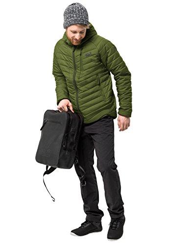 Jack Wolfskin Herren AERO Trail Men Isolationsjacke Winddicht Wasserabweisend Wetterschutzjacke, Cypress grün, XL