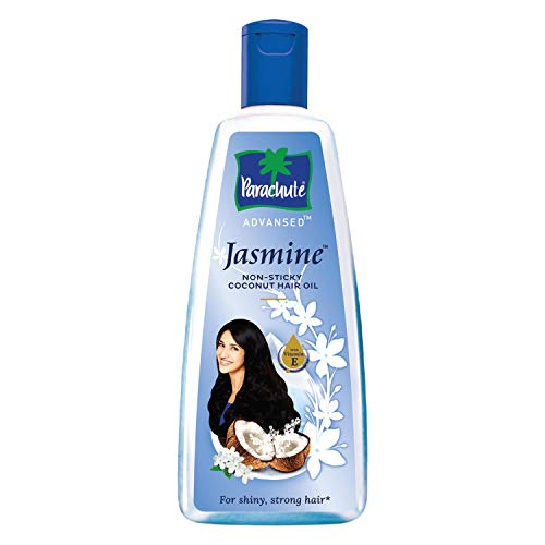 Parachute Advansed Jasmine Enriched Coconut Hair Oil - 10.1 fl.oz. (300ml) - Gives Strong, Shiny Hair(Ship from India)