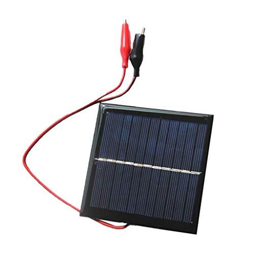 Sharplace Panneau Solaire Chargeur de Batterie Époxy Polycrystalline Mainteneur Sauvegarde pour Voiture 3.7v