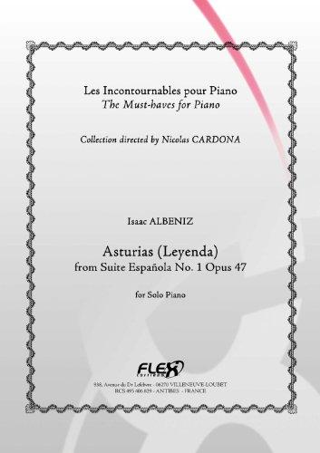 FLEX EDITIONS ALBENIZ I. - ASTURIAS - SOLO PIANO Klassische Noten Tasteninstrumente Klavier