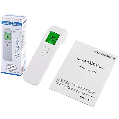 #N/D UX-A-02 Termómetro infrarrojo sin contacto Termómetro infrarrojo de mano Medidas de alta precisión temperatura corporal