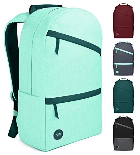 Simple Modern Legacy Backpack with Laptop Compartment Sleeve  25L Travel Bag for Men amp Women College Work School  Lagoon Accent