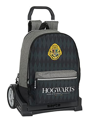 safta Mochila 596 con carro Evolution Harry Potter Hogwarts, 320x140x430 mm