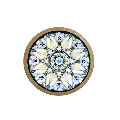 bab Neue Blume des Lebens Halskette Om Yoga Chakra Anhänger Mandala Ice Box Aufkleber Kühlschrank Aufkleber