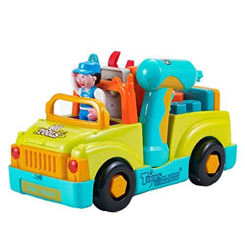 LYY Spaß Interaktiv Kinder Puzzle Elektrische Schraube Demontage Ingenieurmutter Abnehmbare Kombination Demontage Junge Spielzeug Spaß Spielzeug (ohne Batterie) Die Beste Wahl für Kinder