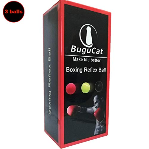 SENDILI Boxing Reflex Ball mit Kopfband Punching Ball Speedball Boxen Training Ball f/ür Zuhause und Outdoor Trainingsger/äte Dekompression