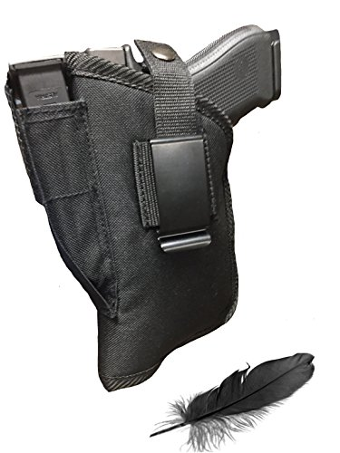 Fits Beretta U22 Neos 22LR with 4.5' Barrel with Laser Soft Nylon Inside or Outside The Pants Gun Holster.
