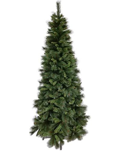 Il Brico Albero di Natale Slim LAPPONIA cm.240 Albero Natalizio FOLTO SALVASPAZIO