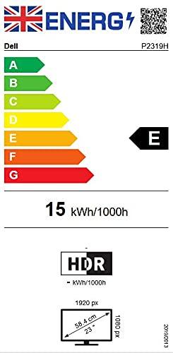 DELL P2319H 58,4 cm (23 Zoll) (VGA, HDMI, DisplayPort, 5ms Reaktionszeit) schwarz - 7