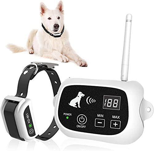 Valla Invisible Y Collares Antifuga Para Perros Cerca Eléctrica Para Perros, Sistema...