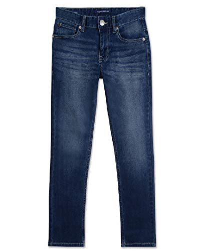 Calvin Klein Boys' Big Skinny Jeans, Authentic, 16