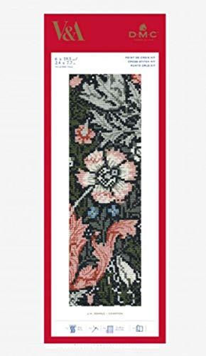 DMC Compton - Kit segnalibri di William Morris, in tessuto, vari