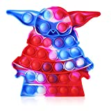 Push Pop Bubble Fidget It Toy, Large Thick&Durable Push Pop Fidget Popper Toy, Simple Pop Bubble Fidget Popper Anxiety Stress Relief Squeeze Toys for Kids