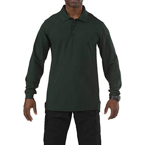 5.11 Veste utilitaire à manches longues tactique pour hommes, petite, verte.