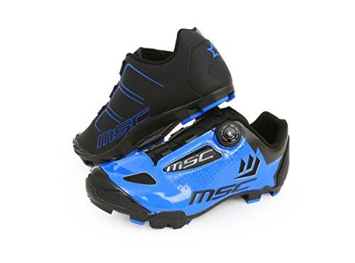 Msc Bikes Aero XC Zapatillas, Unisex Adulto, Azul, 41