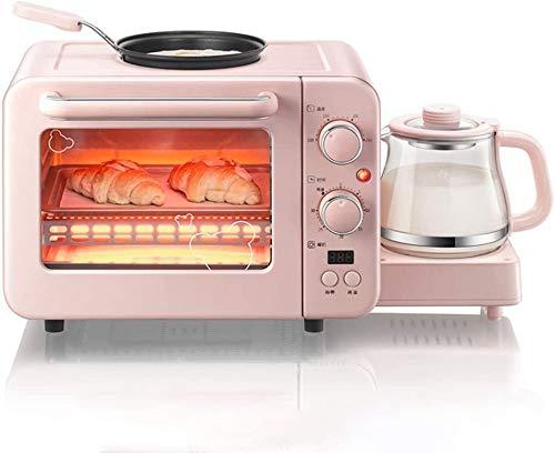 TLCC Toaster Multifunktions-Frühstück Center, Frühstück Multifunktionsmaschine, Toaster kleiner elektrischer Ofen, elektrische Omelett Wärme Erhaltung Maschine kann zum Backen, Braten, Erwärmung verwe