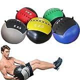 YZBBSH Wall Ball Balón Medicinal Peso Ajustable 2kg~12kg Slam Ball Diametro 35cm,No Iron Sand