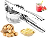 Best Potato Ricers - Potato Ricer Stainless Steel, Manual Masher for Fruits Review