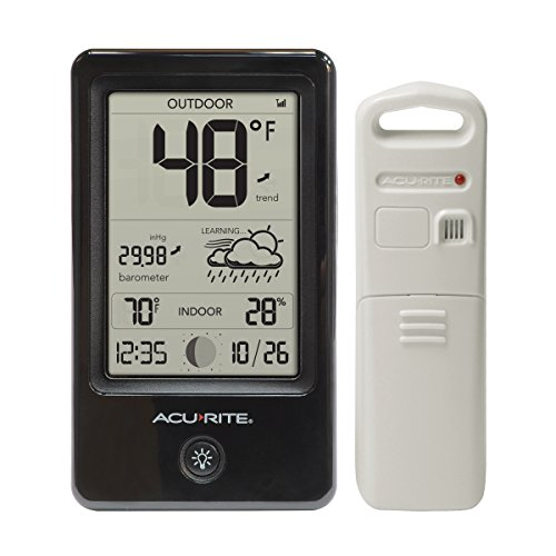 AcuRite 00508 Weather Station with Count Temperature/Humidity/Forecast