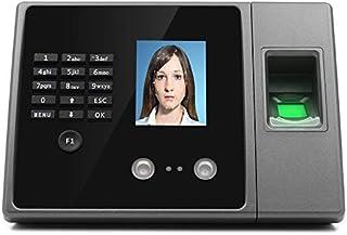 タイムカードマシン 顔認識タイム出席マシンネットワークモデル指紋認識作業パンチカード中国語、英語版 勤務評定に用いる