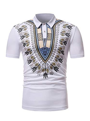 IYFBXl Afrikaanse stijl korte mouwen revers basis shirt POLO shirt ZT-PL10