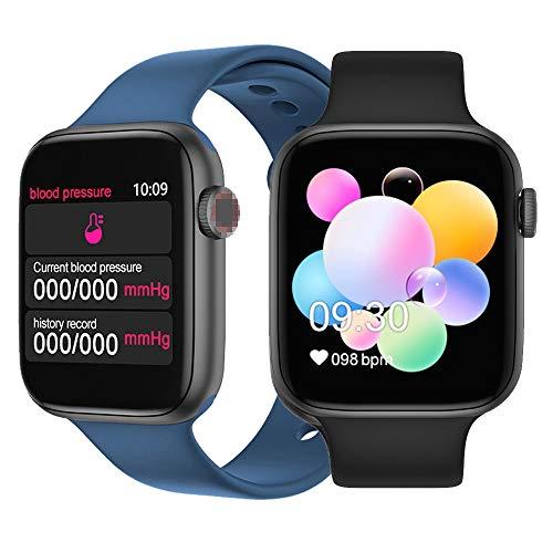 Reloj inteligente con monitor de frecuencia cardíaca, Bluetooth, fitness, temperatura FT50