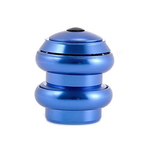 Hamimelon Bike Bicycle 1 1 8inches Threadless External Headset Sealed Cartridge Bearings (Blue)