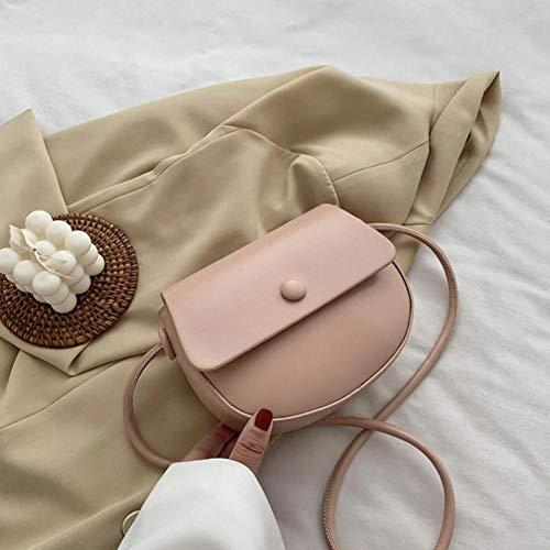 PANZZ Solid Color Bag Crossbody Bags Women Summer Shoulder Handbags, Pink, Mini