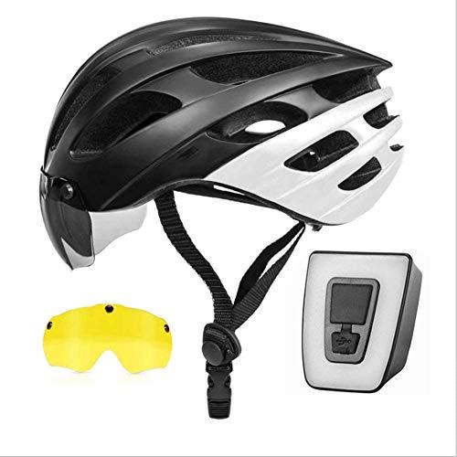 JIBO Bicicleta Casco, Una Pieza Montaña Bicicleta Casco, Ventilación, Amortiguación Proteccion, Adecuado...