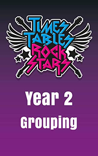 Year 2 - Grouping and Division - Times Tables Rock Stars (English Edition)
