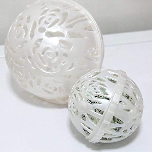 Gereton Wäsche waschen Mutter Wäsche Ei Ball Home Wäsche waschen Waschmaschine Waschen Ball BH Saver BH Double Ball Bubble - weiß