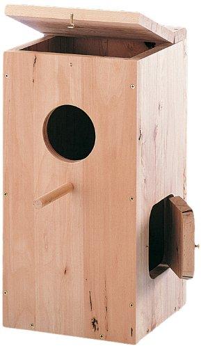 Kerbl - 50278 - Nichoir pour perroquet - 36 x 36 x 76 cm