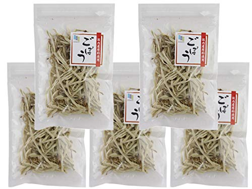 乾燥ごぼう 20g×5個セット (国内産原料使用)ゴボウを熱湯で戻すだけの簡単調理!(乾燥野菜 国産 保存食)味噌汁の具にも重宝します。