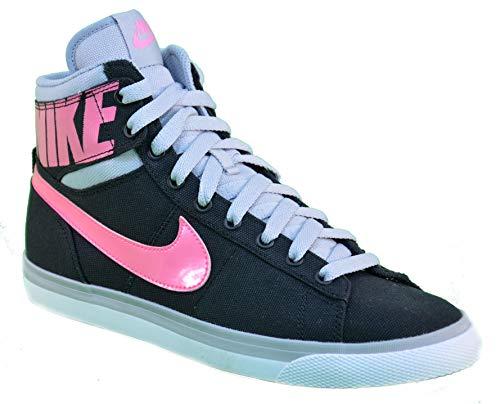 Nike WMNS Match Sprm Hi Txt Chaussures Femmes Black Canvas 644588 36 EU