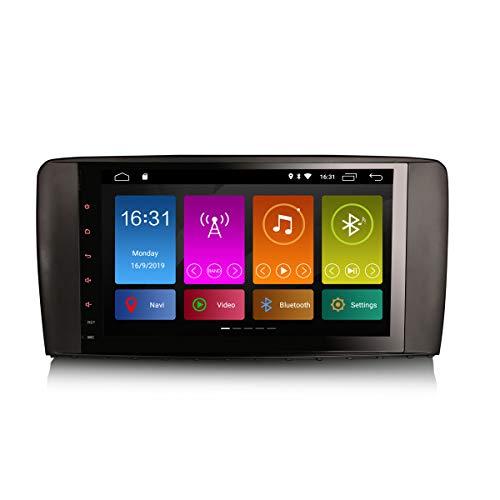 ERISIN 9 pollici Android 10.0 Autoradio Multimedia per Mercedes Benz Classe R W251 Supporto audio GPS Sat Nav Bluetooth Wifi 4G DAB + RDS Mirror Link TPMS Amplificatore DSP CarPlay integrato