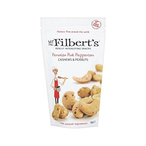Mr Filbert Peruanisches Rosa Pfeffer Cashewnüssen & Erdnüsse 120G - Packung mit 2