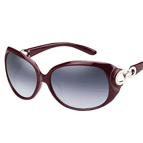 ZCF Nieuwe zonnebril dames zonnebril gepolariseerde bril ster netwerk rode ronde gezicht 2018 tij elegante grote doos ogen lange gezicht zonnebril mode