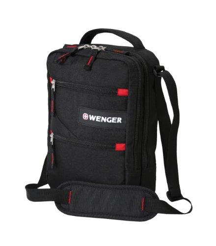 Wenger SA18262166 - Bolso bandolera (10 L), color negro